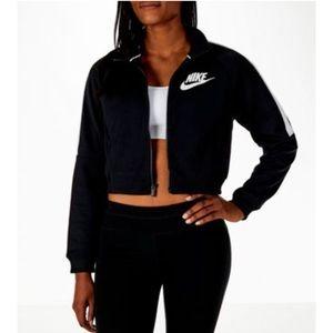 NIKE sportswear cropped jacket